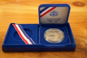 1986 US MINT LIBERTY DOLLAR SILVER PROOF COMMEMORATIVE COIN