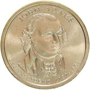 2007 P PRESIDENTIAL DOLLAR JOHN ADAMS BU CLAD US COIN