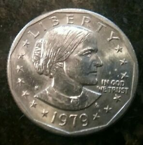 1979 S UNCIRCULATED SUSAN B ANTHONY DOLLAR