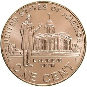 2009 D LINCOLN PROFESSIONAL LIFE CENT 3 SATIN FINISH COPPER PENNY