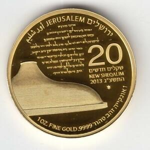Click now to see the BUY IT NOW Price! ISRAEL 2013 SHRINE OF THE BOOK JERUSALEM OF GOLD 4TH BULLION COIN 1OZ PURE GOLD