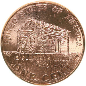 2009 LINCOLN LOG CABIN EARLY CHILDHOOD CENT 1 BU PENNY US COIN