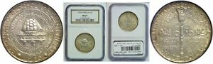 1936 NORFOLK SILVER COMMEMORATIVE NGC MS 67