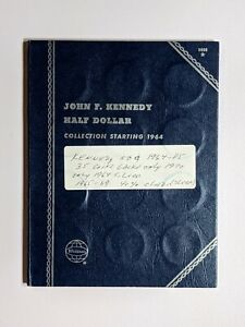 1964 1985 PD KENNEDY HALF DOLLAR COIN COLLECTION 35 COINS WITH 7 SILVER COINS