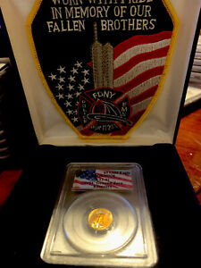 Click now to see the BUY IT NOW Price! 1998 $5 AMERICAN GOLD EAGLE PCGS MS 70 WTC RECOVERY 9 11 2001 20TH ANNIVERSARY