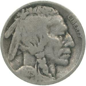 1925 S BUFFALO NICKEL ABOUT GOOD AG