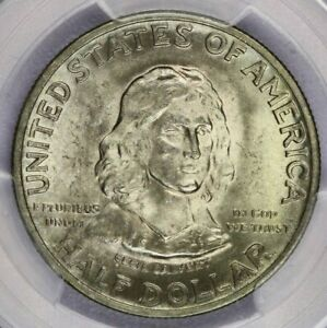 1934 P 1934 MARYLAND HALF DOLLAR PCGS MS65 CAC BEAUTIFUL LUSTROUS COIN