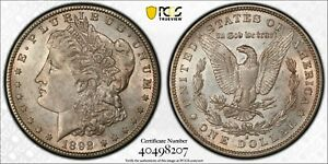 Click now to see the BUY IT NOW Price! 1892 S MORGAN SILVER DOLLAR. TOP 100 VAM 2 PCGS AU55 W/ CAC STICKER