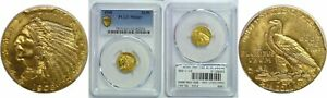 1908 $2.50 GOLD COIN PCGS MS 64