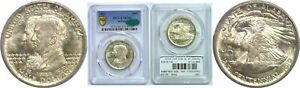 Click now to see the BUY IT NOW Price! 1921 ALABAMA SILVER COMMEMORATIVE PCGS MS 66 CAC
