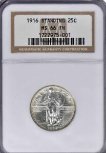 Click now to see the BUY IT NOW Price! 1916 STANDING LIBERTY QUARTER MS66FH NGC  PA1727975001