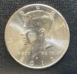 2012 D  CHOICE BU  KENNEDY US HALF DOLLAR COIN SEE COMBINED SHIPPING  FREE RULE