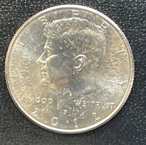 2012 P CHOICE BU  KENNEDY US HALF DOLLAR COIN  SEE COMBINED SHIPPING  FREE RULE