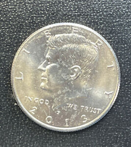 2013 P CHOICE BU  KENNEDY US HALF DOLLAR COIN  SEE COMBINED SHIPPING  FREE RULE