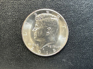 2015 D  CHOICE BU  KENNEDY US HALF DOLLAR COIN  SEE COMBINED SHIPPING  FREE RULE