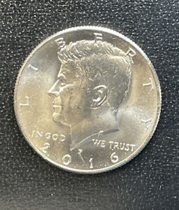 2016  P CHOICE BU  KENNEDY US HALF DOLLAR COIN  SEE COMBINED SHIPPING  FREE RULE
