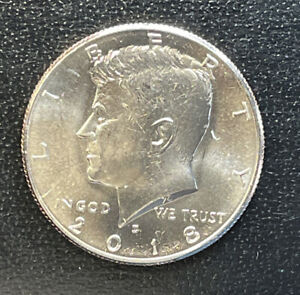 2018 D  CHOICE BU  KENNEDY US HALF DOLLAR COIN  SEE COMBINED SHIPPING  FREE RULE
