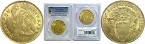 1799 $10 GOLD COIN PCGS MS 63 LARGE STARS OBVERSE