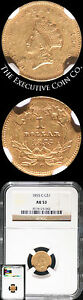 Click now to see the BUY IT NOW Price! 1855 C INDIAN PRINCESS TYPE 2  GOLD $1 NGC  CHARLOTTE MINT