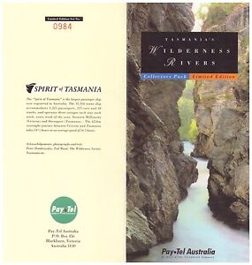PAY.TEL COLLECTORS' PACK   WILDERNESS RIVERS   LTD EDITION 3 CARD SET MINT