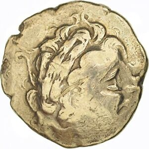 Click now to see the BUY IT NOW Price! [502556] COIN AULERCI DIABLINTES STATER GRADED NGC VF 4/5 3/5 ELECTRUM