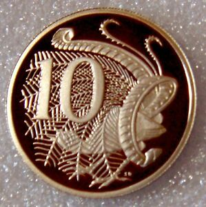 AUSTRALIA: 2002 10 CENTS PROOF