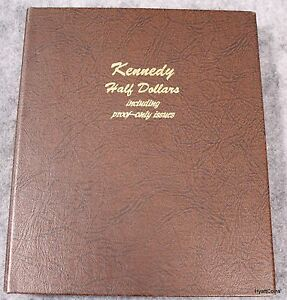 Click now to see the BUY IT NOW Price! 1964 2012 KENNEDY HALF DOLLAR 160 COIN DANSCO ALBUM INCLUDING PROOF ONLY ISSUES