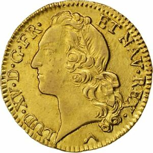 Click now to see the BUY IT NOW Price! [26432] FRANCIA LOUIS XV LOUIS D'OR AU BANDEAU LOUIS D'OR 1771 LILLE