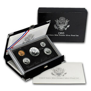 Click now to see the BUY IT NOW Price! 1995 PREMIER SILVER PROOF SET   SKU 1189