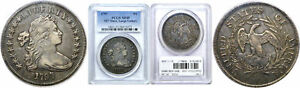 1797 BUST DOLLAR PCGS XF 45 9X7 STARS LARGE LETTERS
