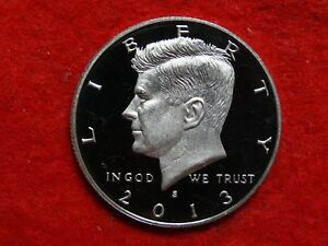 2013 S KENNEDY PROOF DEEP CAMEO  CLAD HALF DOLLAR     PRICE REDUCED     40
