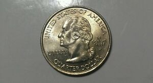 US COINS 2000 P WASHINGTON STATE QUARTER MASSACHUSETTS MS CONDITION TONED