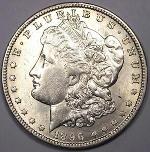 1896 O MORGAN SILVER DOLLAR $1   EXCELLENT CONDITION   NICE LUSTER    DATE