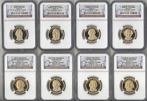 Click now to see the BUY IT NOW Price! 2007 S  THRU 2016 S  FULL SET ALL 39   PRESIDENTIAL DOLLARS NGC PF70 2 NGC BOXES