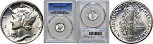 Click now to see the BUY IT NOW Price! 1927 MERCURY DIME PCGS MS 66 FB