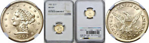 1903 $2.50 GOLD COIN NGC MS 64