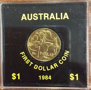 1984 $1 COIN UNC FIRST ISSUE OF $1 COIN