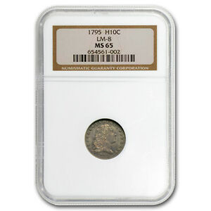 Click now to see the BUY IT NOW Price! 1795 FLOWING HAIR HALF DIME MS 65 NGC   SKU 105117