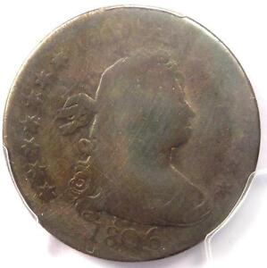 1806 DRAPED BUST QUARTER 25C   PCGS AG DETAILS    EARLY CERTIFIED COIN