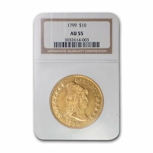 Click now to see the BUY IT NOW Price! 1799 $10 TURBAN HEAD GOLD EAGLE AU 55 NGC   SKU155337