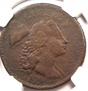 1794 HEAD OF 1794 S 44 LIBERTY CAP LARGE CENT 1C: NGC VF   $2000 VALUE IN VF20