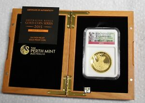 Click now to see the BUY IT NOW Price! 2015P 2OZ. AUSTRALIA G$200 KOALA HIGH RELIEF FINE GOLD COIN NGC PF70 ULTRA CAMEO