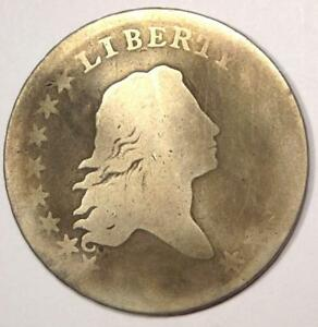 1795 FLOWING HAIR BUST HALF DOLLAR 50C    KEY DATE COIN