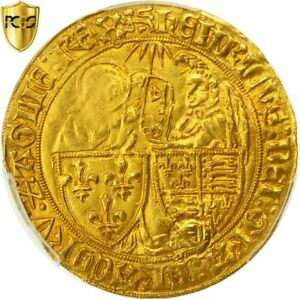Click now to see the BUY IT NOW Price! [492969] COIN FRANCE HENRI VI SALUT D'OR ROUEN PCGS AU DETAILS GOLD
