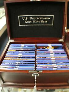 Click now to see the BUY IT NOW Price! 1965 2016 FIRST 50 YEARS UNITED STATES US MINT SETS COMPLETE SET P & D   3 SMS
