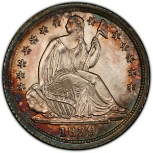 Click now to see the BUY IT NOW Price! 1839 LIBERTY SEATED HALF DIME PCGS MS67