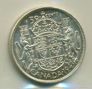 Click now to see the BUY IT NOW Price! ICCS CANADA 1943 50 CENTS MS 65 NEAR 3 XSW 311