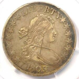 1805/4 DRAPED BUST HALF DOLLAR 50C   PCGS XF DETAIL    CERTIFIED COIN