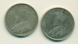 Click now to see the BUY IT NOW Price! 1920 50 CENTS SMALL 0 & LARGE 0 AVF MATCHED PAIR THE LARGE 0 IS