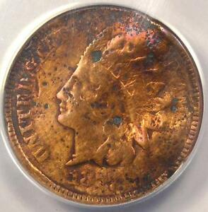 1877 INDIAN CENT PENNY 1C   CERTIFIED ANACS VG8 DETAILS    KEY DATE COIN